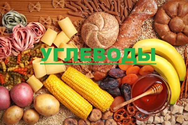 Углеводы в продуктах питания. Таблица, список с содержанием сложных, простых углеводов, белков, жиров для похудения