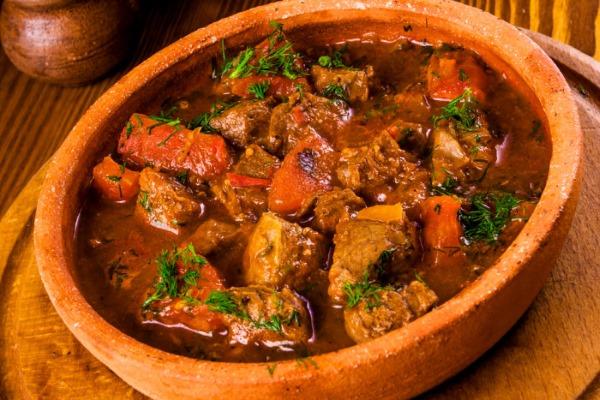 Чашушули по-грузински. Рецепт классический из говядины, свинины