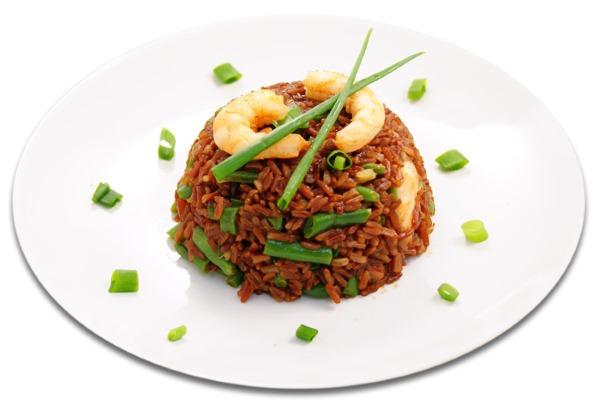 Красный рис. Рецепты приготовления, польза и вред, калорийность, БЖУ