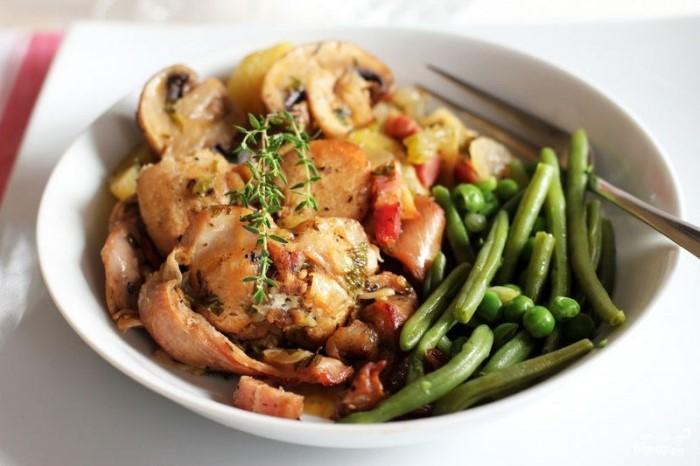 Кролик в сметане. Рецепт приготовления в духовке в рукаве, мультиварке, казане, на сковороде