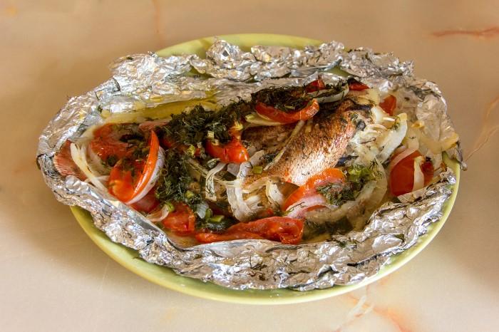 Окунь морской. Рецепты приготовления в мультиварке, духовке, на сковороде