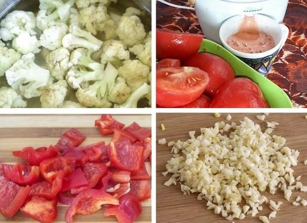 Цветная капуста на зиму. Заготовки, рецепты приготовления, простые и вкусные. Фото