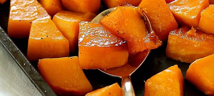 Как приготовить тыкву в духовке кусочками. Рецепты с сахаром, медом, яблоками, корицей