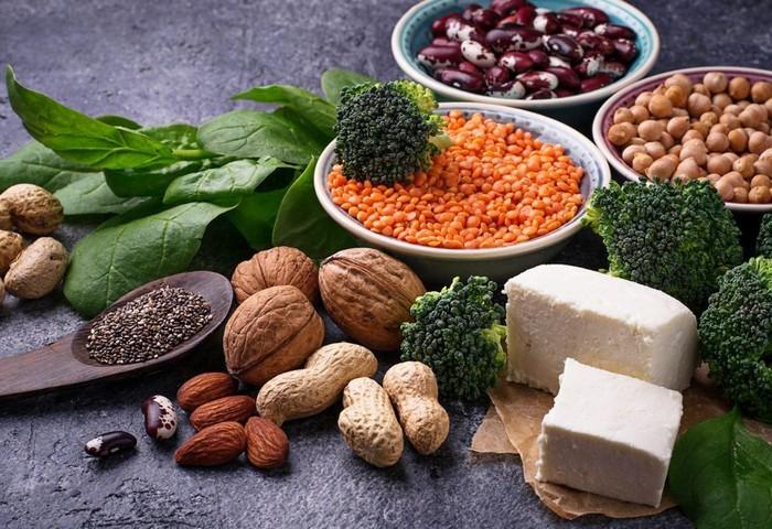 Список продуктов растительного белка, таблица, меню для похудения, набора веса, питания в пост, вегетарианцев