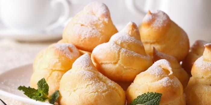 Начинки для профитролей. Рецепты несладкие с сыром, грибами, крабовыми палочками