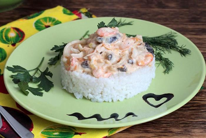 Как приготовить морской коктейль. Рецепты на сковороде салатов, рассола, со сливками, макаронами, замороженный