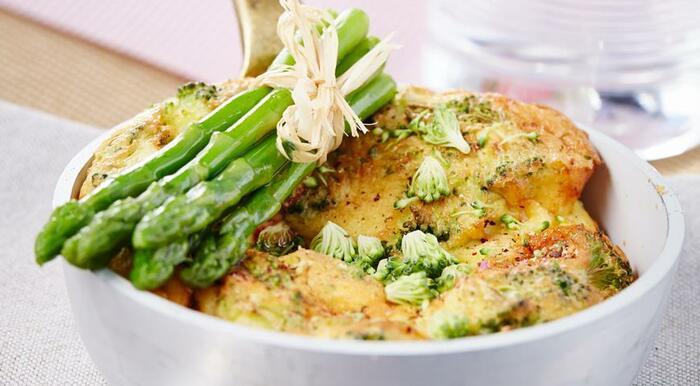 Омлет с брокколи на сковороде. Рецепты, как приготовить пышный, с замороженной капустой