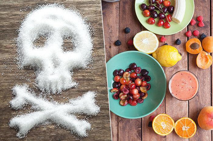 Отказ от сахара ломка