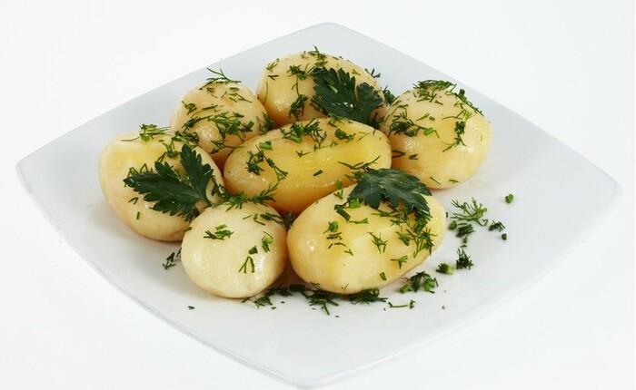 Картофель вареный. Калорийность на воде с солью, бжу в готовом виде, как употреблять на диете