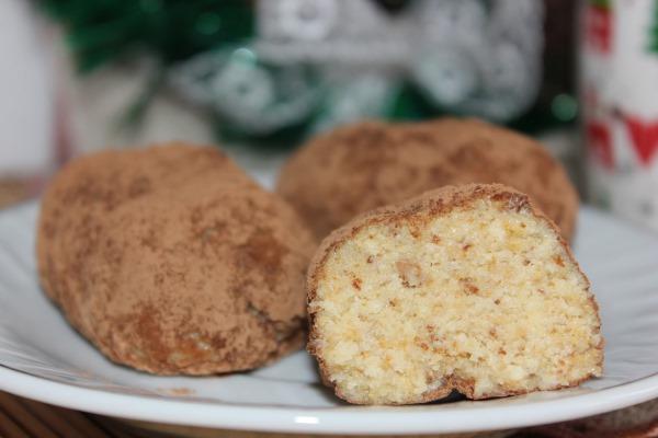 Шоколадная картошка. Рецепты из печенья, как приготовить пошагово