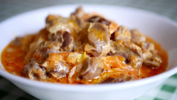 Как вкусно приготовить куриные желудки мягкими, сочные в сметане, по-корейски, с картошкой. Рецепты с фото