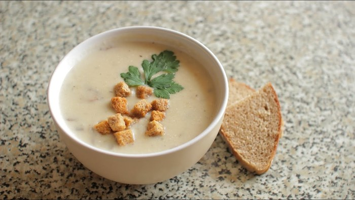 Грибной суп-пюре. Рецепт, как приготовить пошагово с фото из сушеных грибов, шампиньонов в мультиварке