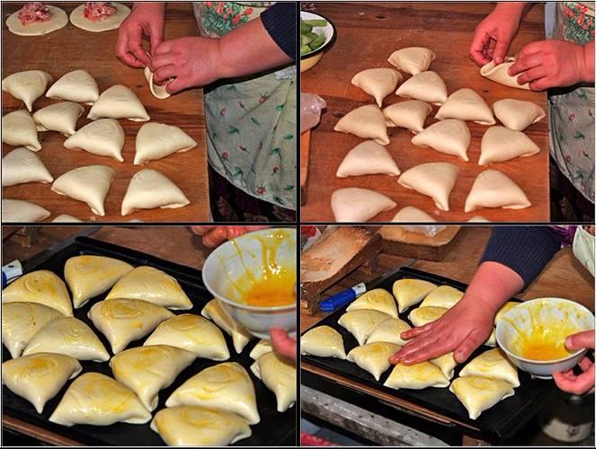 Как приготовить самсу. Рецепт приготовления пошагово с фото из слоеного теста с фаршем, курицей, мясом в духовке