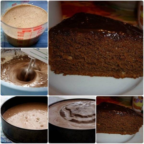 Бисквиты. Рецепт классический в духовке на 4-6 яиц со сметаной, шоколадный, для рулета