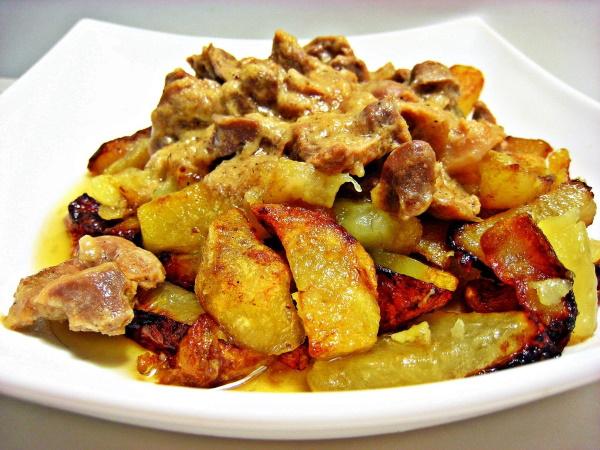 Картошка с лисичками на сковороде. Рецепты пошагово с фото