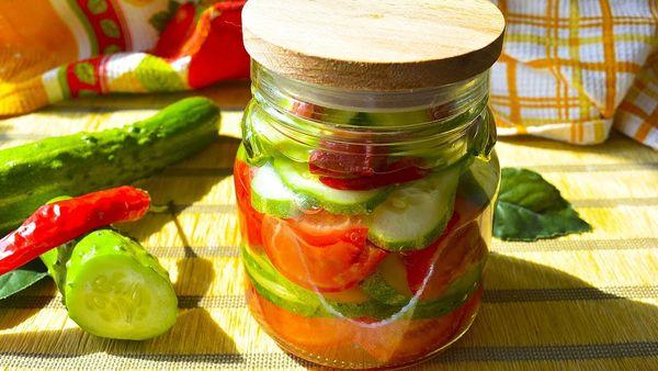 Салат из огурцов на зиму. Рецепты по-корейски, с горчицей, без стерилизации, в томатной заливке