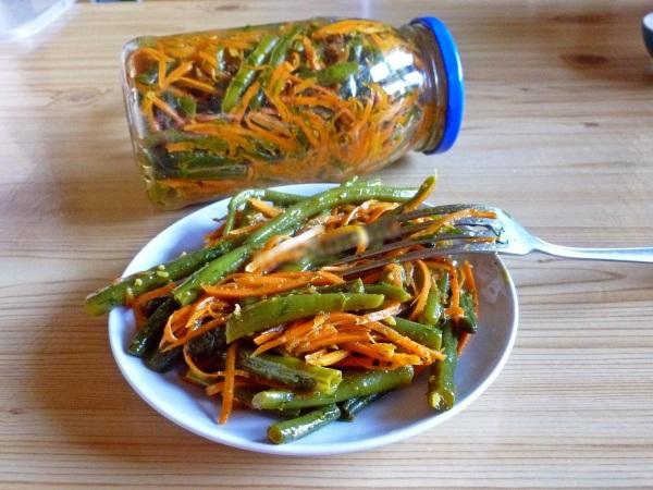 Турша из фасоли. Рецепты приготовления квашеной, тушеной на зиму, по-корейски
