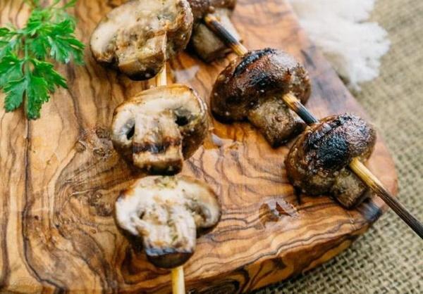 Шампиньоны на мангале. Рецепты маринада на решетке, с соевым соусом, в майонезе, на гриле