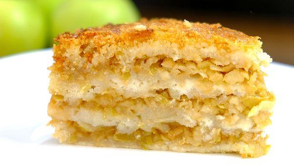 Как приготовить яблочный пирог в духовке. Простые рецепты пошагово с фото