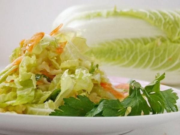 Пекинская капуста. Калорийность на 100 грамм, польза, вред