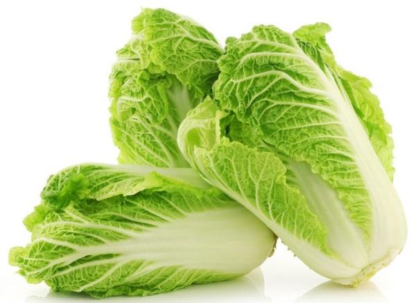 Калорийность китайская капуста. Химический состав и пищевая ценность.