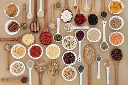 Содержание пищевой клетчатки в продуктах питания