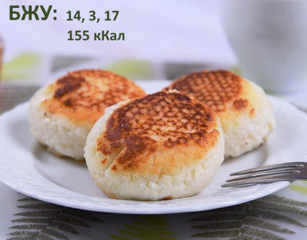 Сырники для диабетиков 1-2 типа. Рецепты простые, вкусные, как приготовить в духовке, мультиварке, микроволновке, пароварке