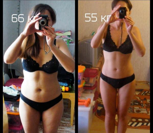 На сколько реально похудеть за месяц с тренировками, диетой